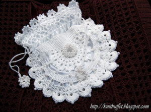 Free Crochet Patterns for a Drawstring Wedding Bag