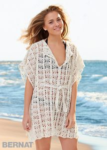 Free Crochet Patterns for Beautiful Beach Cover Ups