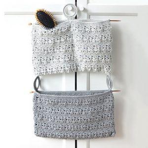 Free Crochet Patterns for Door Hanging Organizer