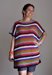 e8f1464e01 Bodrum Beach Cover-up by Yonca Ozbelli is a lovely colourful swimsuit cover  up made using Sport weight yarn and a 4.00mm crochet hook. Free Crochet  Patterns ...