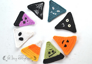 Free Crochet Patterns for a Halloween Banner with other designs
