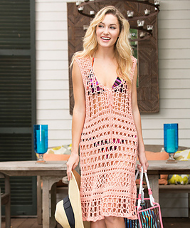 3d5e286b2a It is a nice beach coverup for that awesome beach outing you always wanted. Free  Crochet Patterns ...