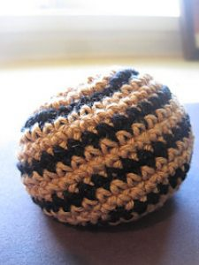 Free Crochet Patterns for Hacky Sack or Footbag