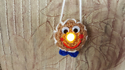 17 Free Crochet Patterns For Gingerbread Man Ornaments