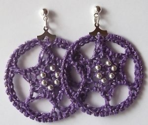 Crochet Earrings Archives Hooked Goodies