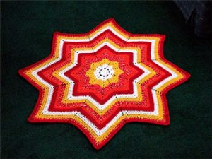 Star Crochet Baby Blanket Free Crochet Patterns