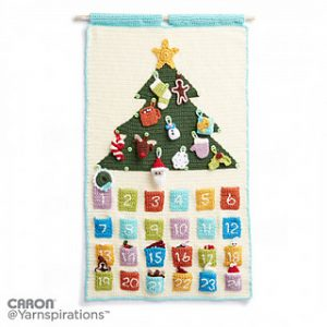 Christmas Advent Calendar for Gift Keeping Free Crochet Patterns