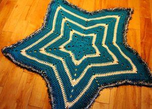 Star Crochet Baby Blanket Free Crochet Patterns