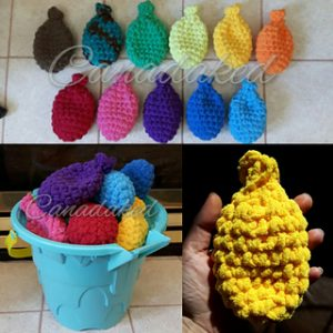 Crochet Water Balloons Free Crochet Patterns