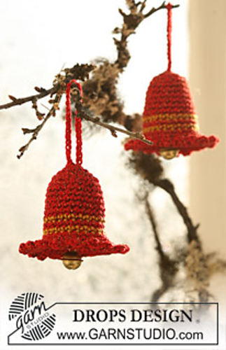 19 Christmas Bells Free Crochet Patterns You Would Love