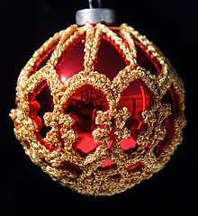 Designer Christmas Baubles Free Crochet Patterns