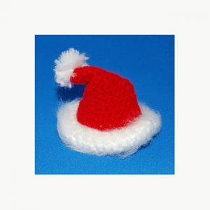 Free Crochet Patterns for Santa Hat Ornament