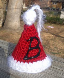 Free Crochet Patterns for Santa Hat Ornament