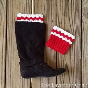 Free Easy Crochet Patterns for Christmas Boot Cuffs