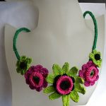 Crochet Summer Necklace Free Crochet Patterns