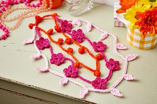 Crochet Summer Necklace Free Crochet Patterns