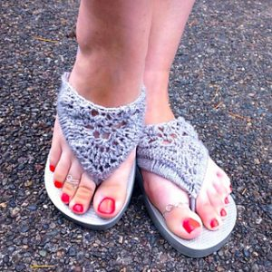 Crochet Flip Flops Free Crochet Patterns for Summer
