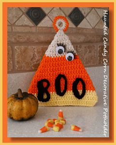 Free Crochet Patterns for Halloween Potholders