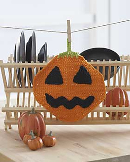 Free Crochet Patterns for a Halloween Dishcloth