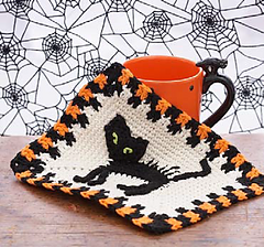 Free Crochet Patterns for a Halloween Dishcloth