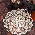 Halloween Crochet Doily Patterns- Skull Crochet Doilies