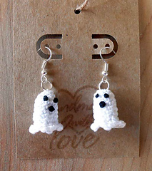Free Crochet Patterns for Halloween Earrings