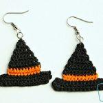 Free Crochet Patterns for Halloween Earrings