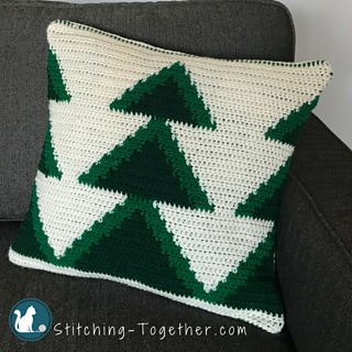Free Crochet Patterns for Christmas Tree Pillow