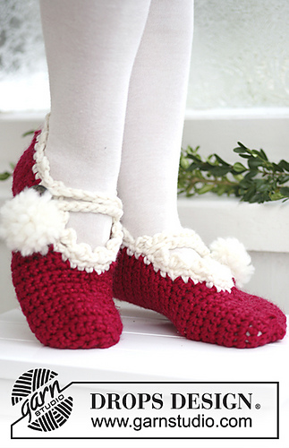 Free Crochet Patterns for Christmas Slippers