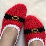 Free Crochet Patterns for Christmas Slippers