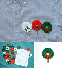 Free Crochet Patterns for Christmas Bookmarks