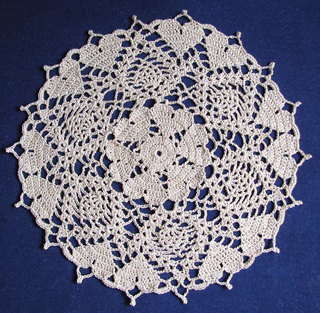Free Crochet Patterns for Heart Doilies for Valentine's Day