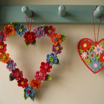 Free Crochet Patterns for Valentine's Day Wreath