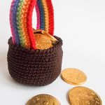 Free Crochet Patterns: Pot of Gold for St. Patrick's Day
