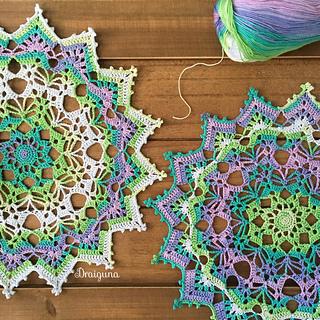 Spring Crochet Doily Patterns