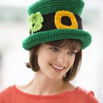 Free Crochet Patterns: Leprechaun Top Hat for St. Patrick's Day