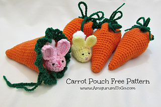 Free Crochet Patterns for Easter Treat Pouch