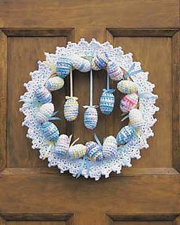 Free Easter Crochet Wreath Patterns