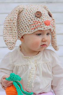 Free Easter Baby Beanie Patterns