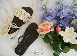 Crochet Spring Sandals Free Crochet Patterns