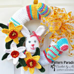 Free Easter Crochet Wreath Patterns