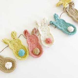 7 Free Spring Crochet Bunting Garland Banner Patterns