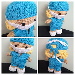 Free Crochet Amigurumi Doll Pattern Tutorials | Crochet dolls free ... | 320x320